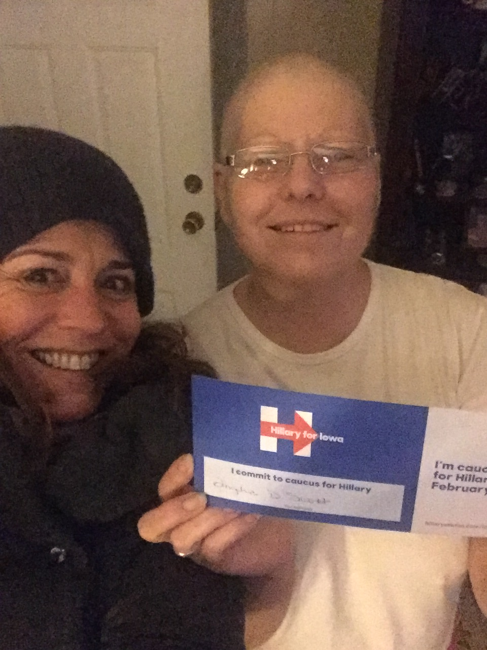 Commit to Hillary Card