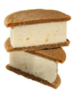 Peach Crisp Ice Cream Sandwich Nyes