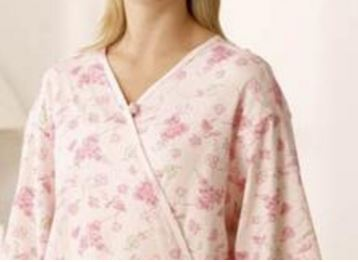 Call Doctor Floral hospital gown