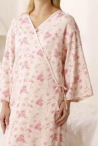 Floral Hospital Gown Call the Doctor Post 50