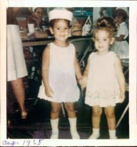 Friends for Life Lauren Chesley Tammy Sher age 3
