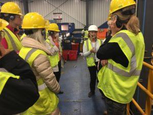 Environmentalists on tour at Rumpke Dump