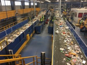Miles of conveyors at Rumpke Dump Lauren Chesley